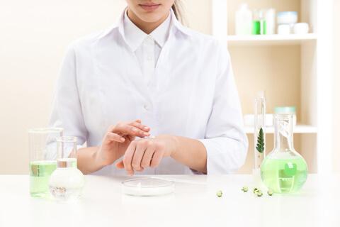 избор на натурални съставки на гел за лице ренор