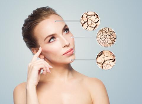 проблемни зони при кожата на лицето ренора
