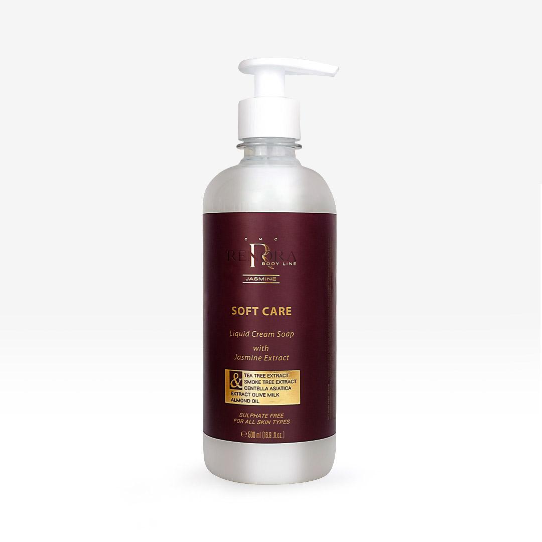 Течен крем сапун за ръце Soft Care